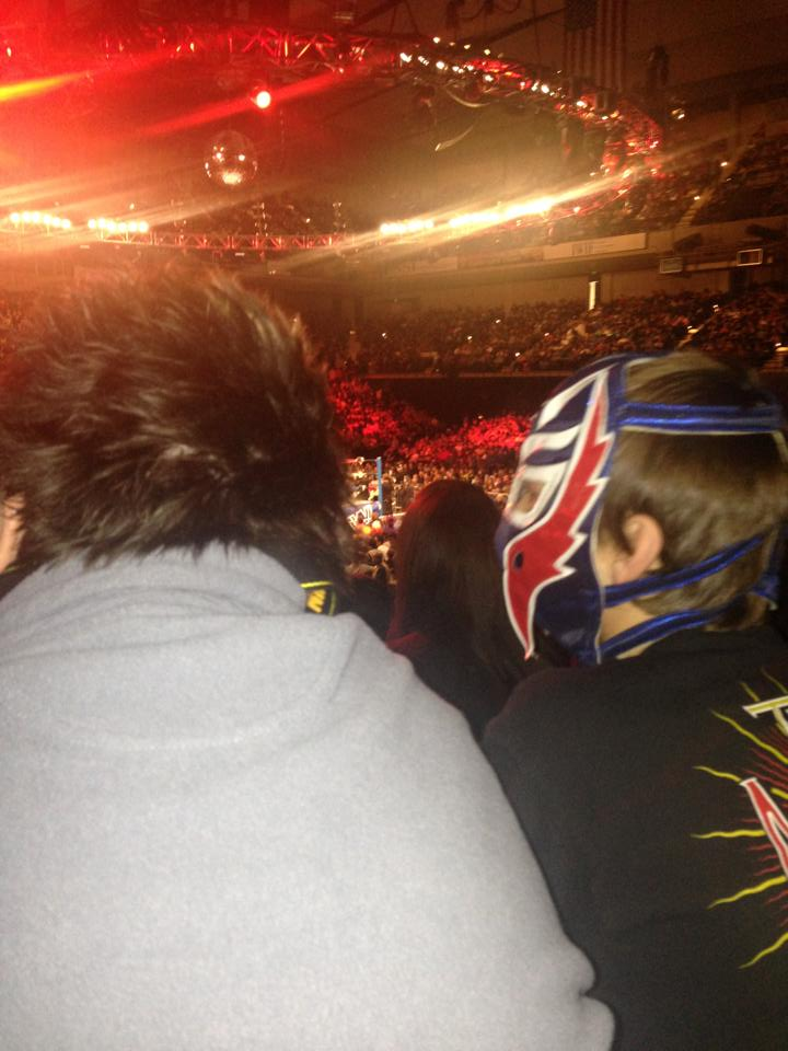 Joe and I at WWE Raw